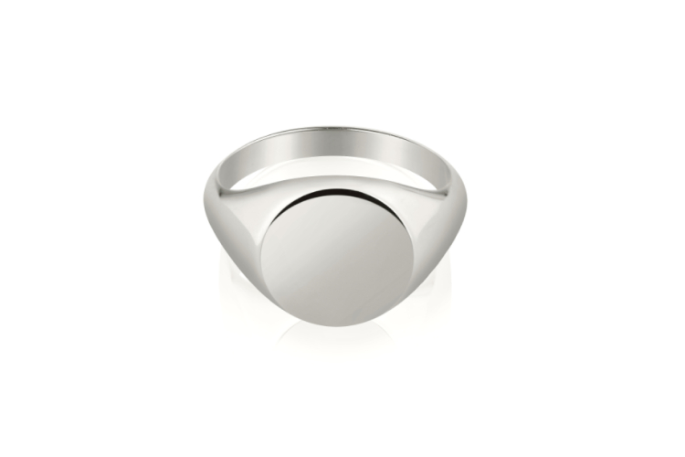 Кольцо-печатка Signet Ring, Vertigo, 9000 руб. (vertigojwl.com)