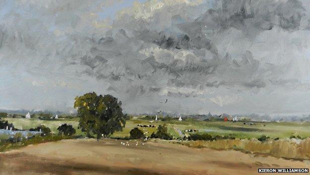 Одна из самых дорогих картин Кайрона стоимостью в £24,885