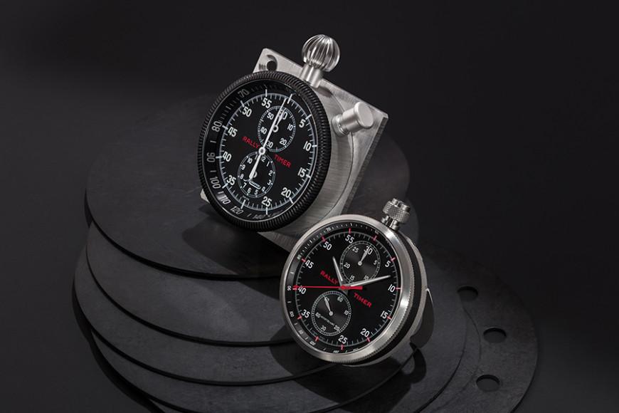Модели из коллекции TimeWalker Rally Time Counter