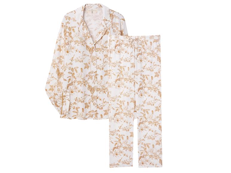 Пижама Africa(рубашка, 2799 руб.; брюки, 2499 руб.) (Etam)