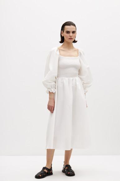 Платье из смесового льна, 4999 руб.