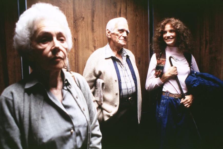 Кадр из фильма «Быть Джоном Малковичем»