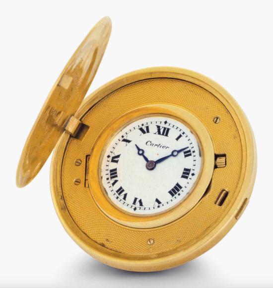 Часы Cartier Бейба Рута, 1926