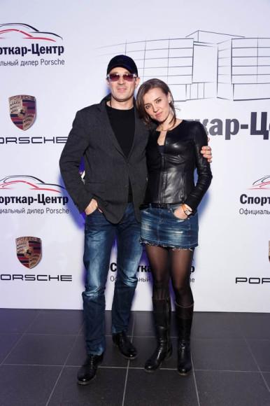 Егор Бероев, актёр, и Ксения Алфёрова