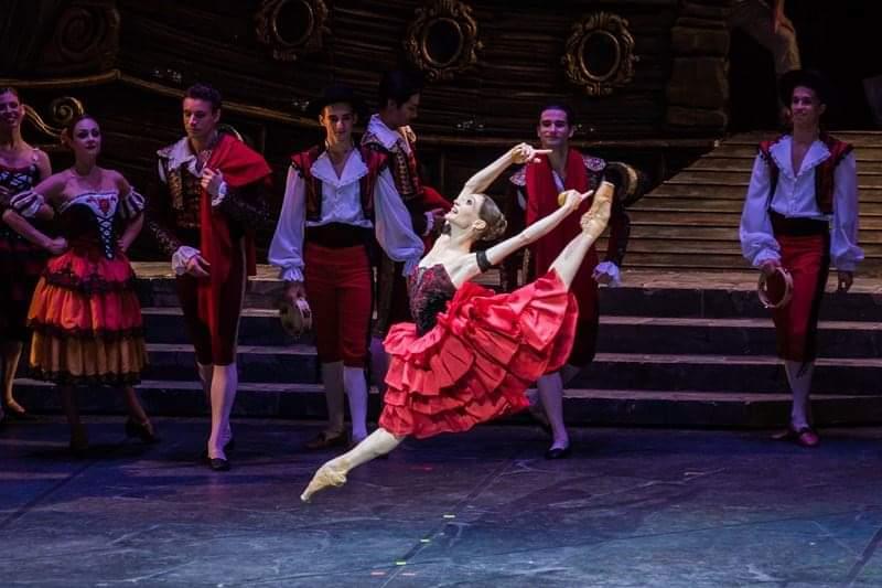 Татьяна Мельник, прима-балерина Национального балета Венгрии