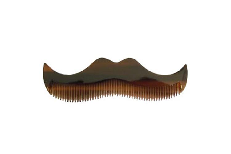 Янтарный гребень для усов и бороды Morgan's
