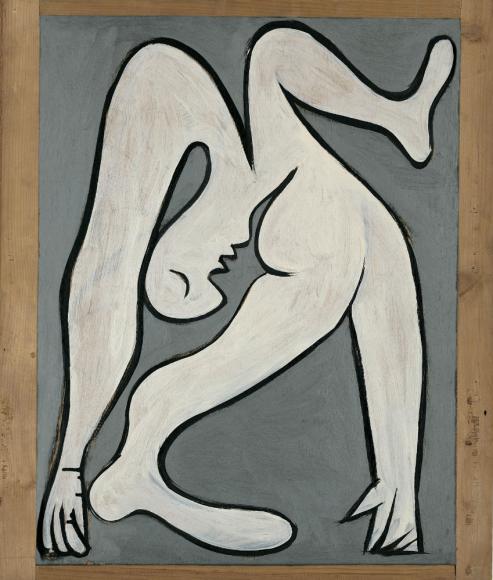 Пабло Пикассо. Акробат. Париж, 19 января 1930 Фонд поддержки искусства Альмины и Бернара Руис-Пикассо, Мадрид