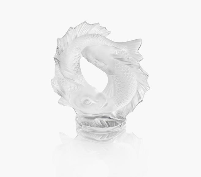 Скульптура «Две рыбы»