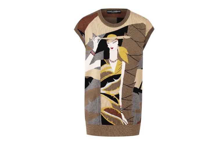 Женский жилет Dolce & Gabbana, 99 300 руб. (Барвиха Luxury Village)