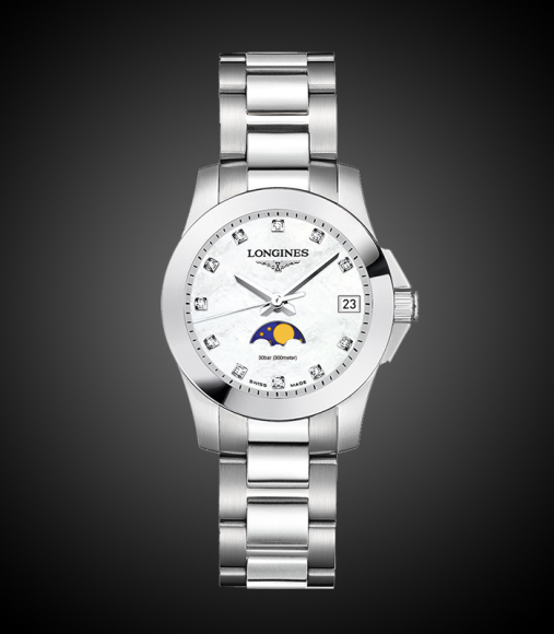 Conquest Moonphase, Longines, 75 600 руб.