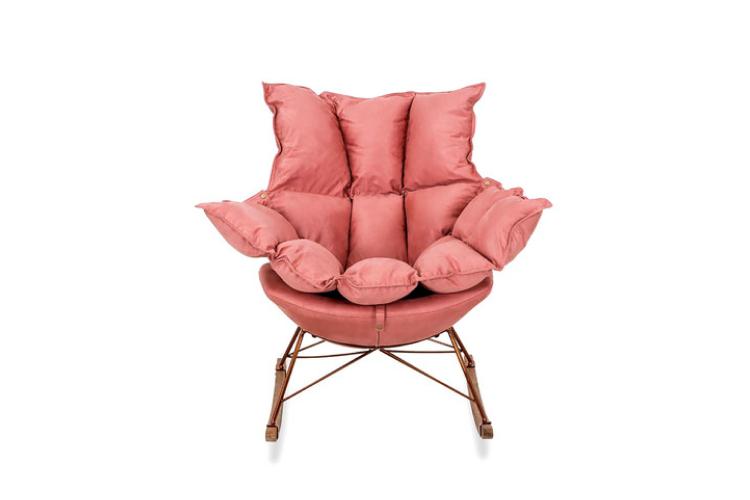 Кресло-качалка Ariella, OGOGO, 52 900 руб. (shop.westwing.ru)