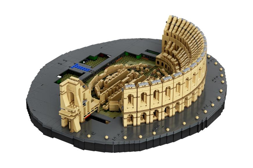 Набор Lego с Колизеем