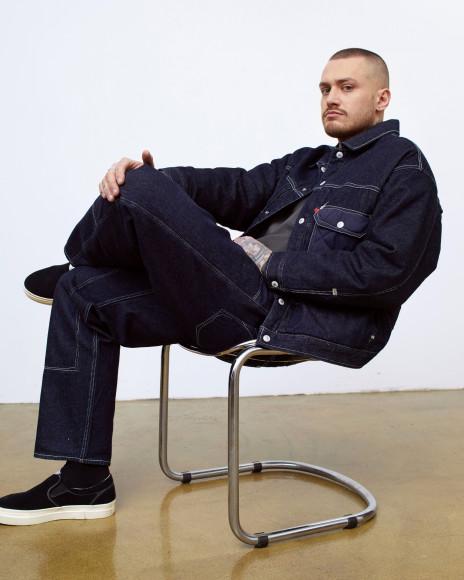 Павел Косов в рекламной кампании Levi's Red