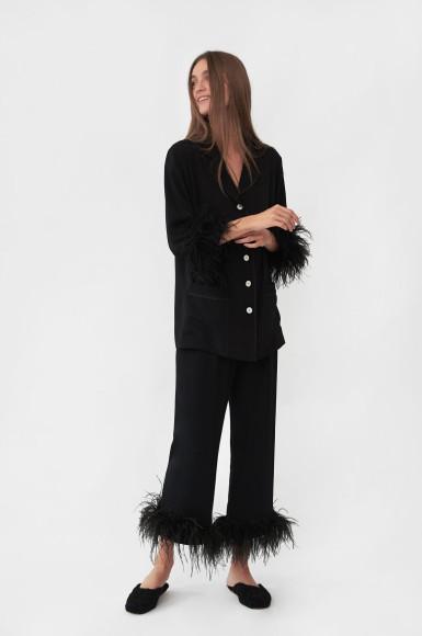 Пижама из вискозы Sleeper, $320