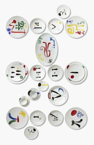 Сервиз из 100 предметов на 12 персон Parler Seul, Bernardaud, 2 545 000 руб.