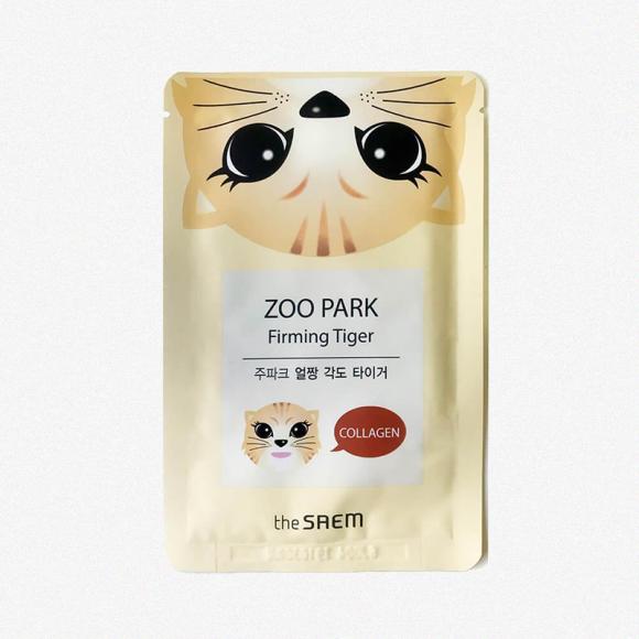 Укрепляющая маска с коллагеном «Zoo Park Firming Tiger», The Seam
