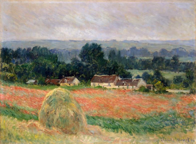 Клод Моне, Стог сена в Живерни, 1886