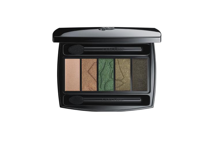 Палетка теней для макияжа Hypnôse Palette, оттенок 07 Kaki Elektrique,Lancôme