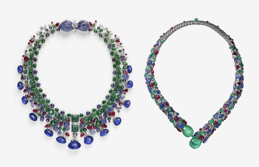 Индийское ожерелье, изготовленное по спецзаказу, Cartier Paris, 1936 (переделано в 1963); ожерелье, Cartier, 2016