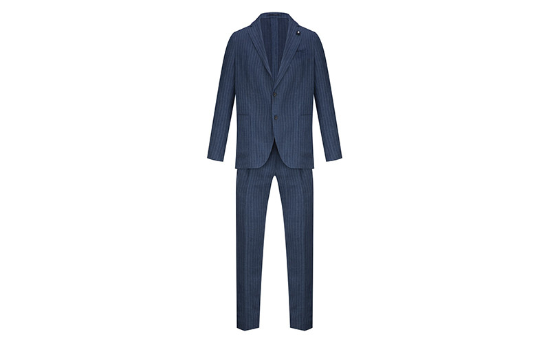 Мужской костюм Lardini, 76 989 руб. с учетом скидки («Кашемир и шелк»)