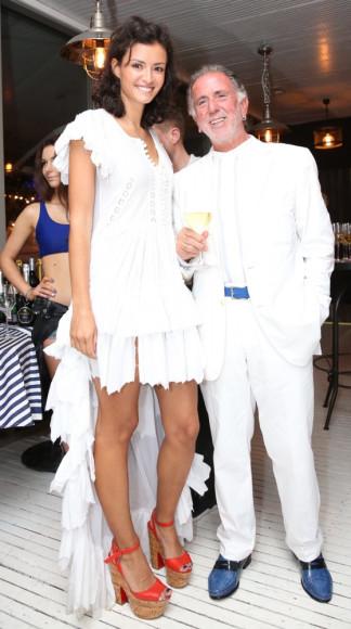Юлия Русадзе и Ramon Guiral (Cafe del Mar Ibiza)