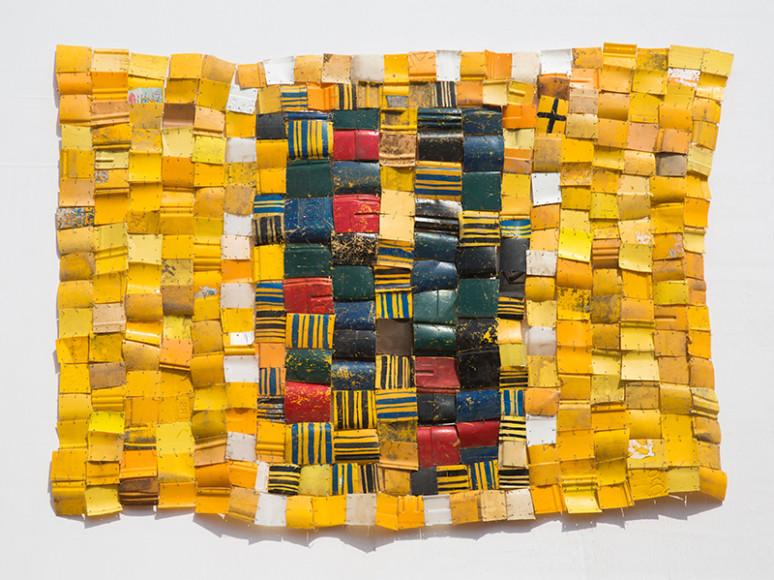 Серж Аттуквей Клотти (Serge Attukwei Clottey). «My Hood», 2016