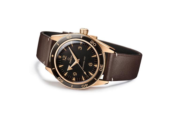 Часы Seamaster 300 Bronze Gold, Omega
