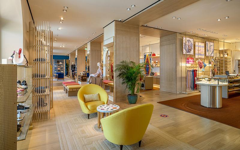 Обновленный бутик Louis Vuitton в Сочи
