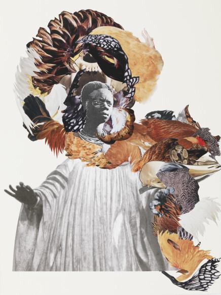 Марсия Куре (Marcia Kure). Коллаж «Of Saints and Vagabonds», 2016