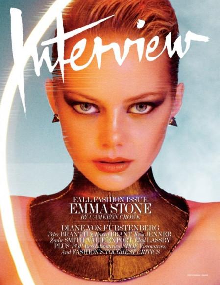 Эмма Стоун, обложка 2012 года