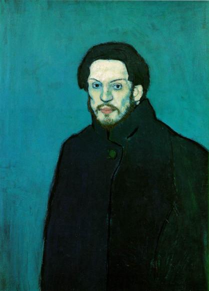 Пабло Пикассо. «Автопортрет», 1901
