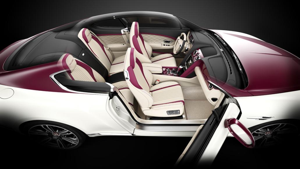 Continental GTC V8 Magenta Edition