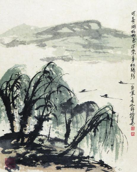 Цуй Жучжо. «Не может молчать кукушка: В марте красива природа», 2010