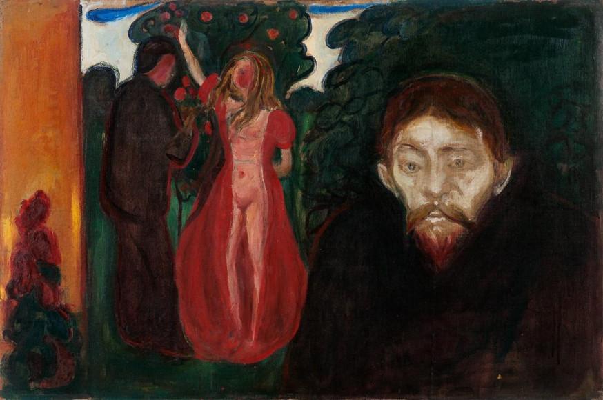 Эдвард Мунк. Jealousy, 1895