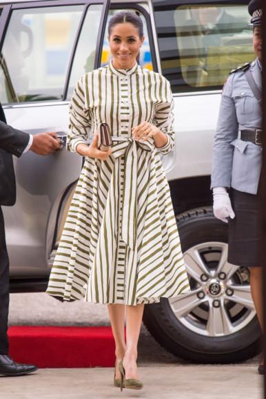 Меган Маркл в платье Martin Grant