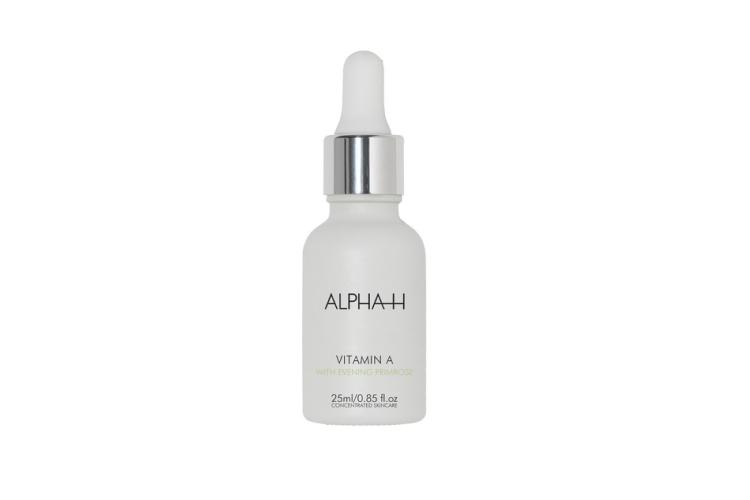 Антивозрастная увлажняющая сыворотка с витамином А Alpha-H также содержит инкапсулированный ретинол, что позволяет улучшить эластичность и упругость кожи, уменьшить глубину морщин, укрепить капилляры и повысить общий тонус кожи