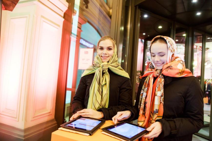 Открытие нового бутика Hermès