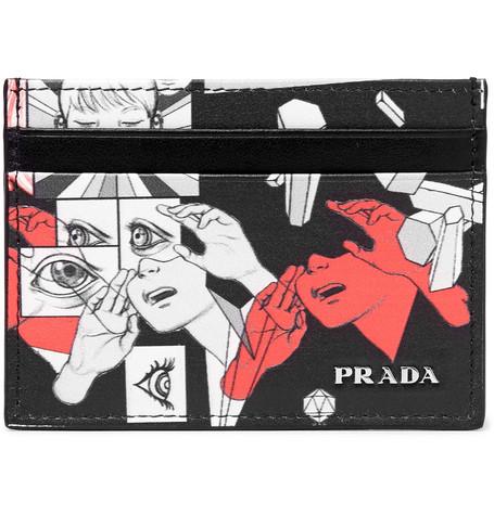 Футляр для кредитных карт Prada