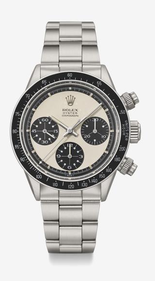 Часы Ref 6263 Paul Newman, Rolex. Эстимейт 300–500 тысяч швейцарских франков, проданы за 420,5 тысячи швейцарских франков