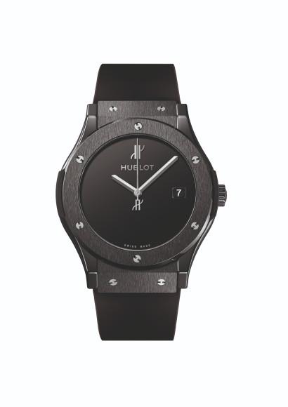 Часы Classic Fusion 40 Years Anniversary из черной керамики