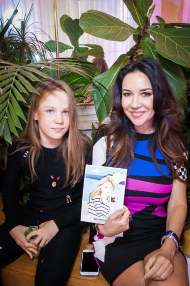Ирина Чайковская с дочерью