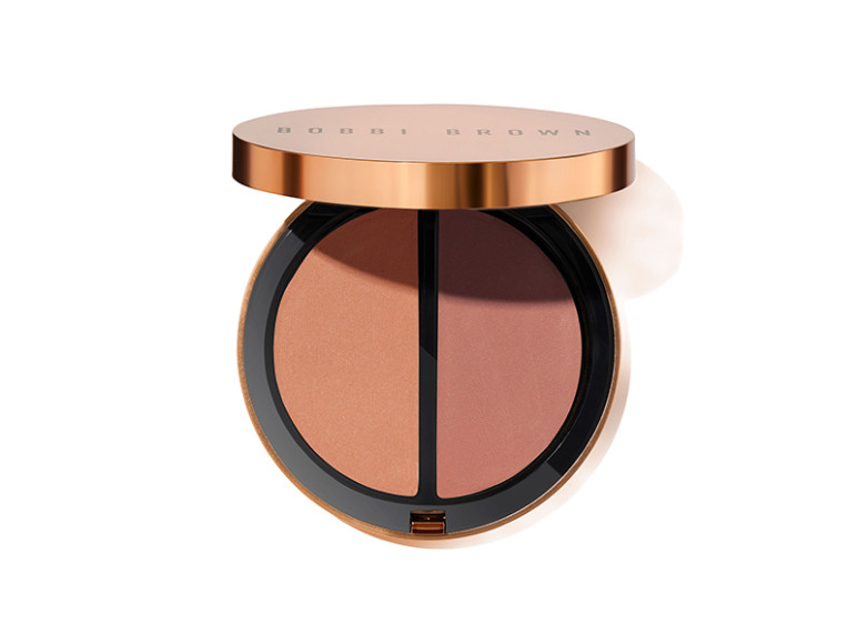 Пудра-хайлайтер Bronzing Duo, оттенок Medium, ​Bobbi Brown