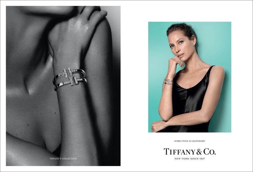 Актриса Кристи Тарлингтон в новой рекламной кампании Tiffany & Co.