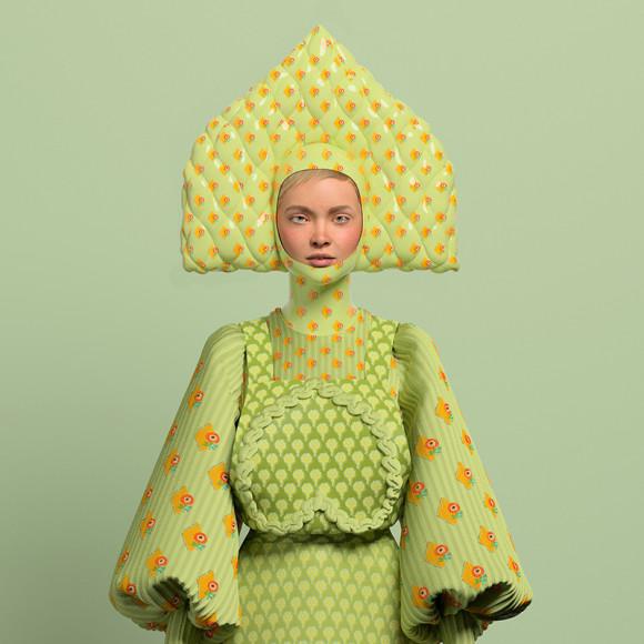 3D-лукбук Alena Akhmadullina