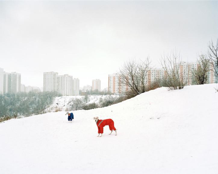 Александр Гронский. «Южное Тушино» из серии «Граница», 2009
