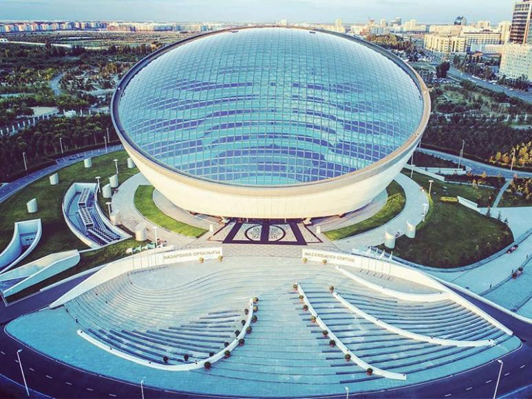 Проекты Нормана Фостера в Нур-Султане.Библиотека Елбасы (Назарбаев-центр)