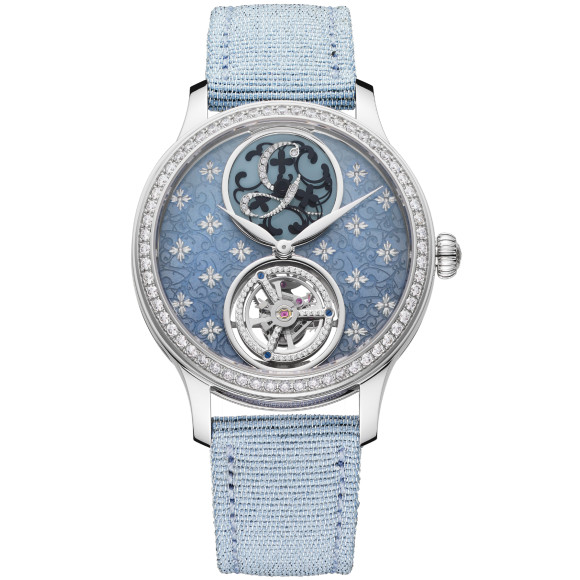 Часы Tourbillon Signature Mystérieuse «Fleur de Sel», Charles Girardier