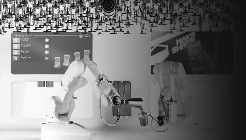 Робот-бармен Makr Shakr