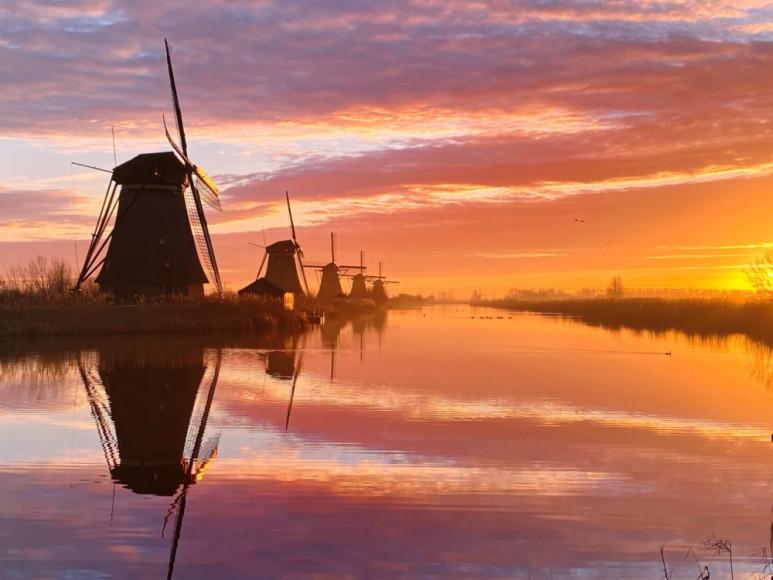 Клэр Дропперт, «Голландское утро», iPhone 11 Pro Max— победитель в номинации «Рассвет»