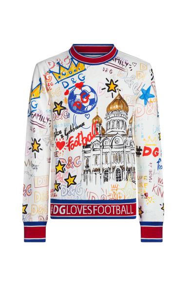 Футболка с длиным рукавом Dolce & Gabbana